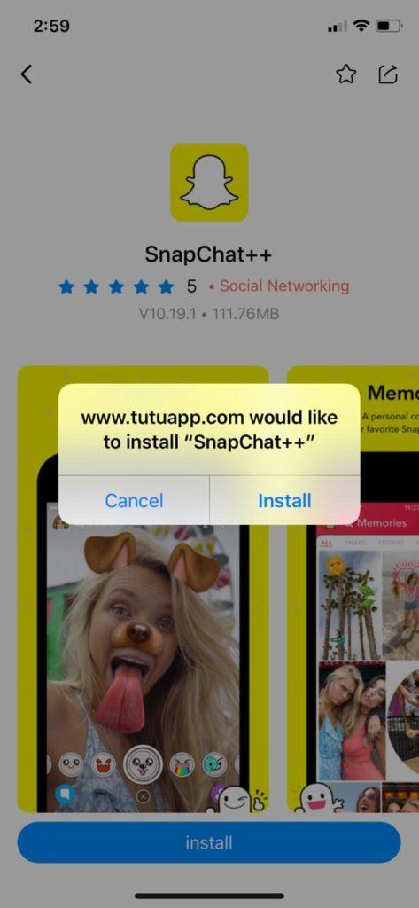 install snapchat++