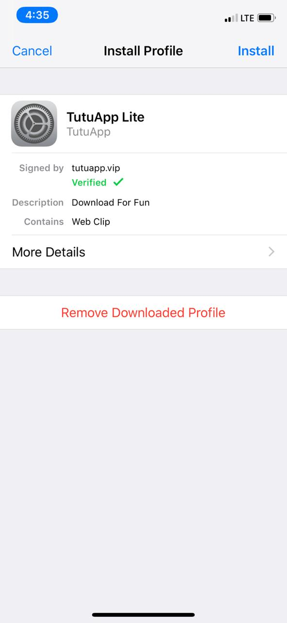 Download Latest TutuApp Lite on ios