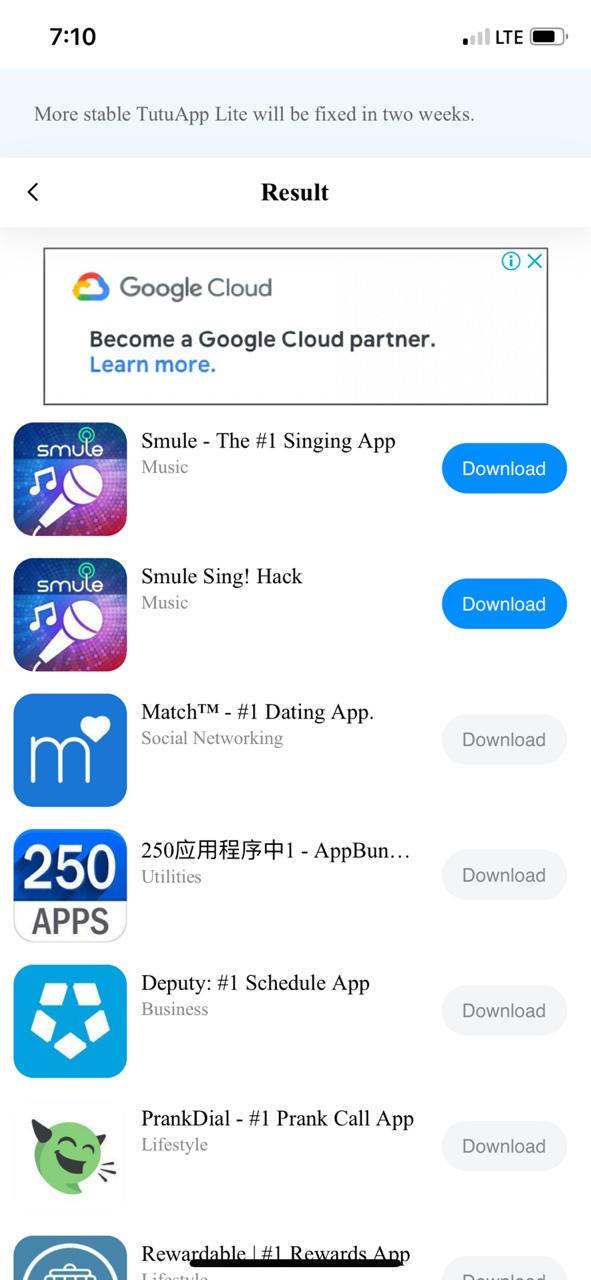 Download Smule VIP on iOS using TuTuApp