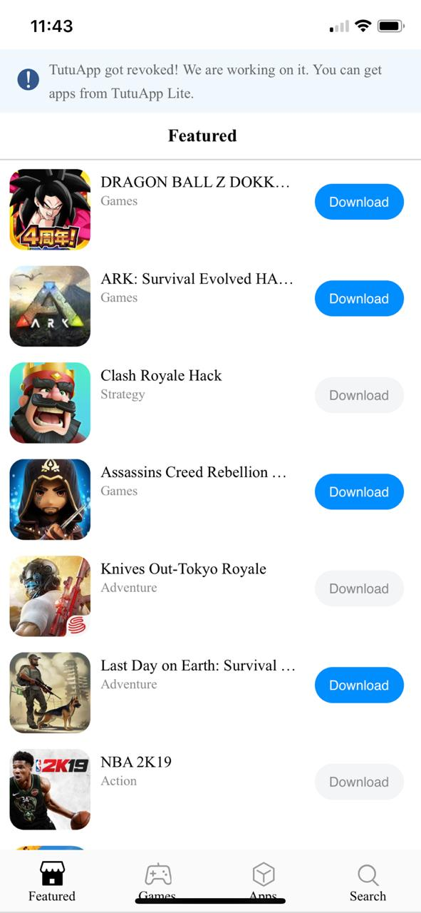 Install Last Day on Earth hack on iOS using TuTuApp