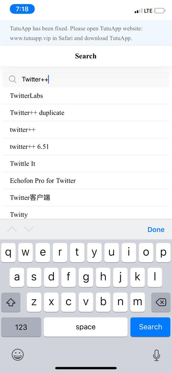 Twitter++ on iOS - TuTuApp