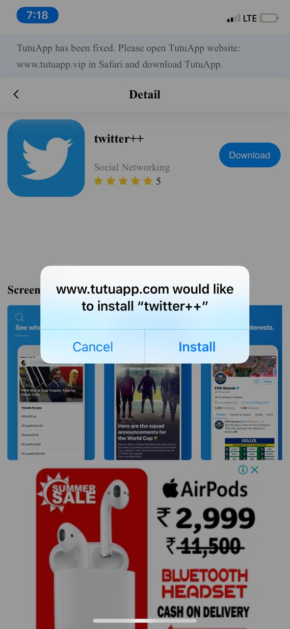 Twitter Plus on iPhone and iPad - TuTuApp