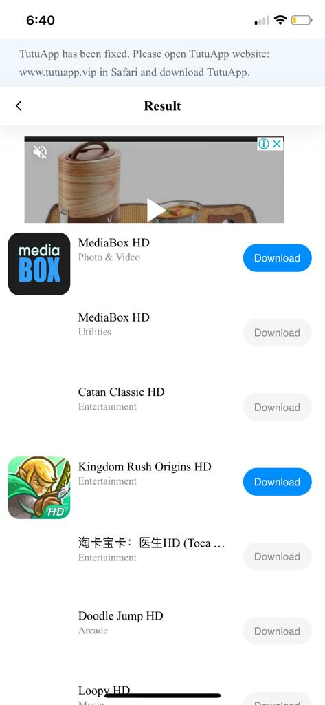 Download MediaBox HD App - TuTuApp