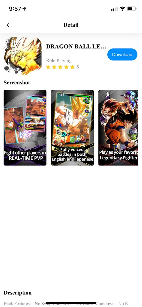 Dragon Ball Legends TuTuApp