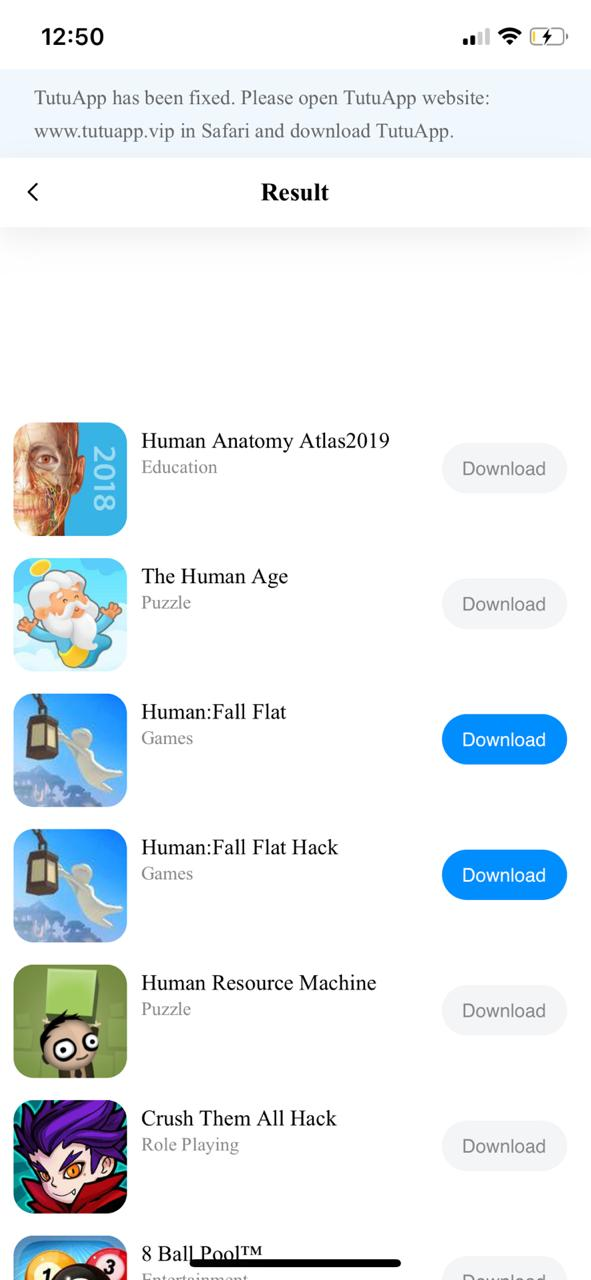 TuTuApp Human Fall Flat Download on iOS(iPhone/iPad) No Jailbreak