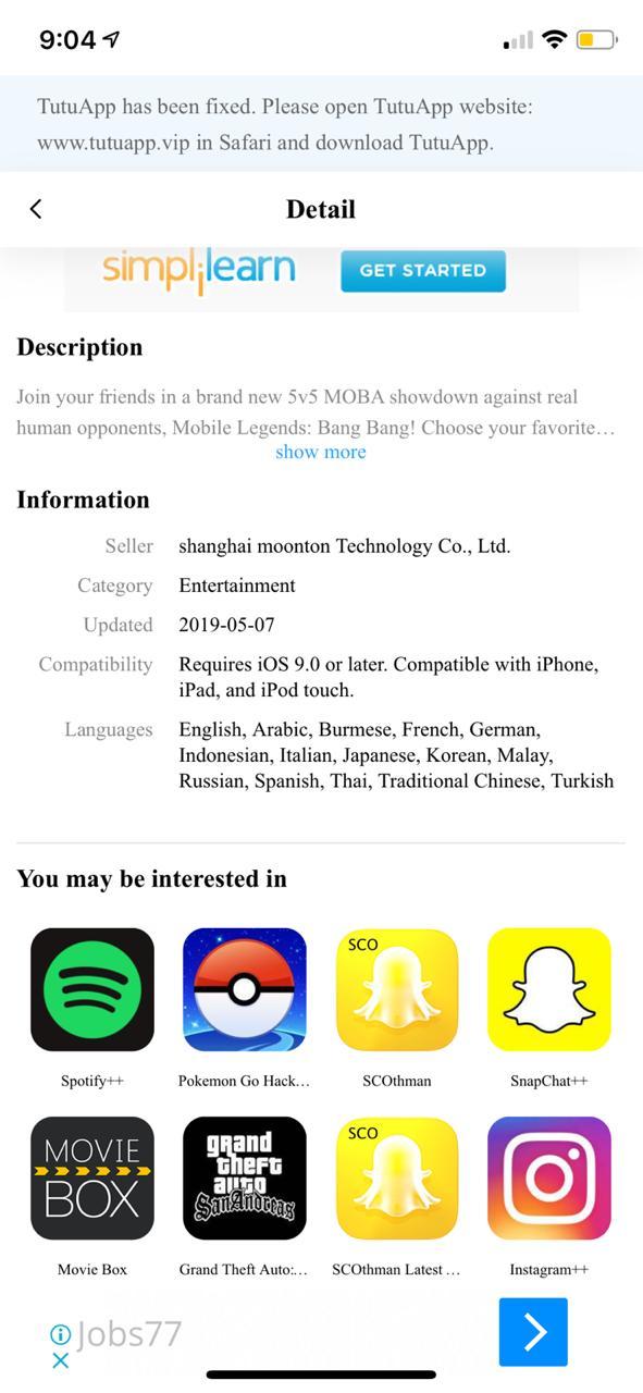 Mobile Legends Hack on iOS Download