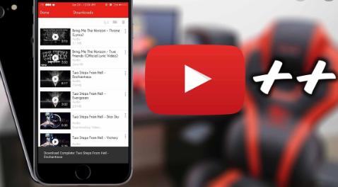 YouTube++ on iOS - TuTuApp