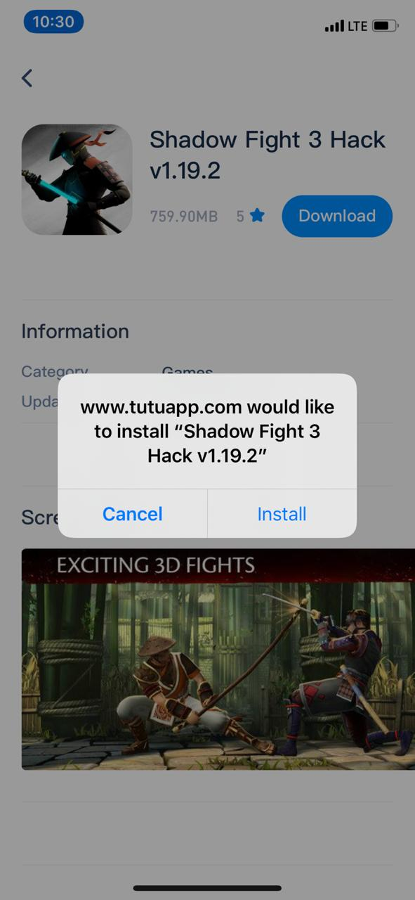 Shadow Fight 3 Hack Install on iOS