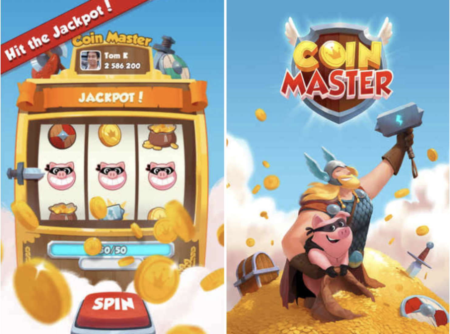 Coin Master Game Mod Hack on iOS
